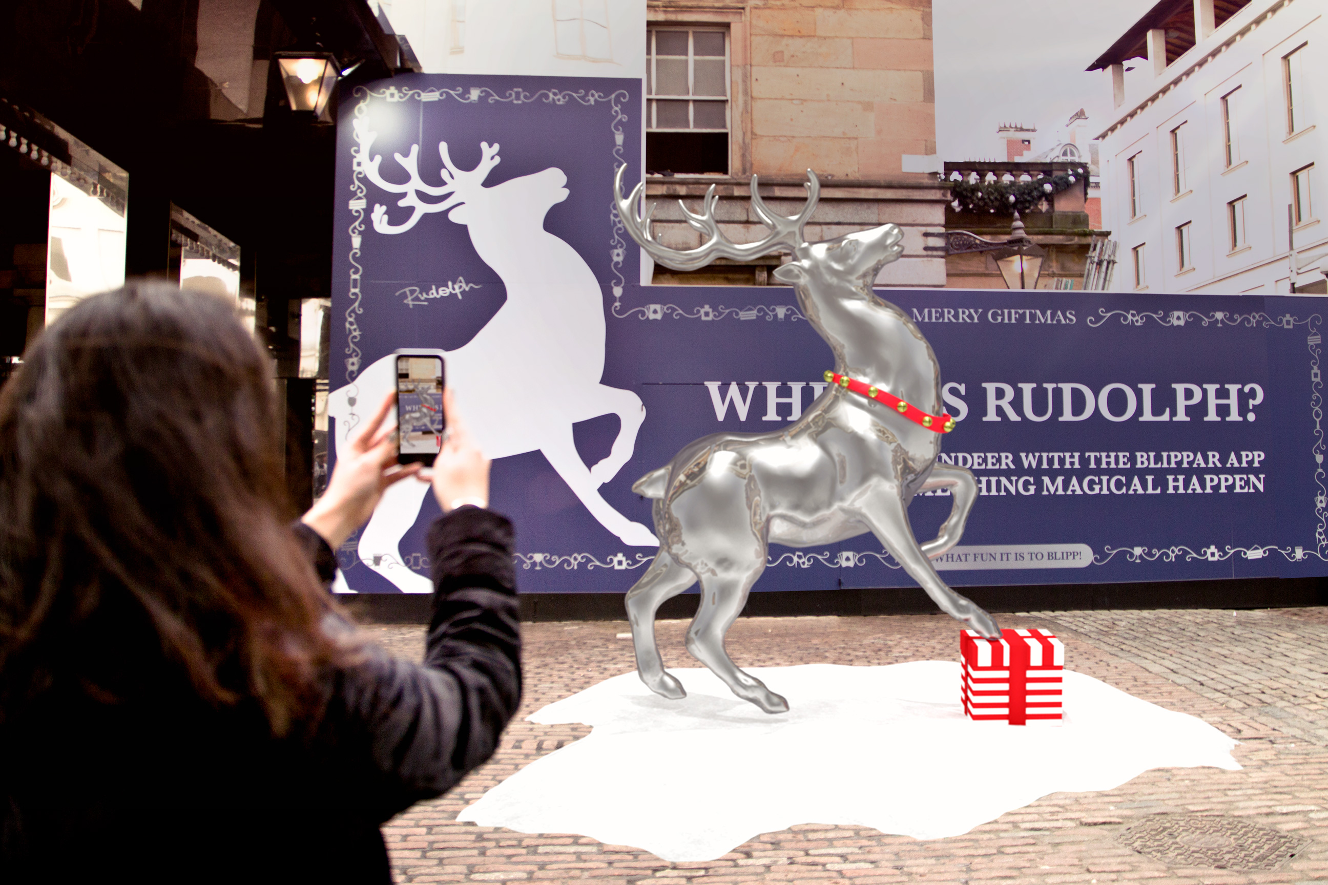 Covent Garden Transforms Into World S First Augmented