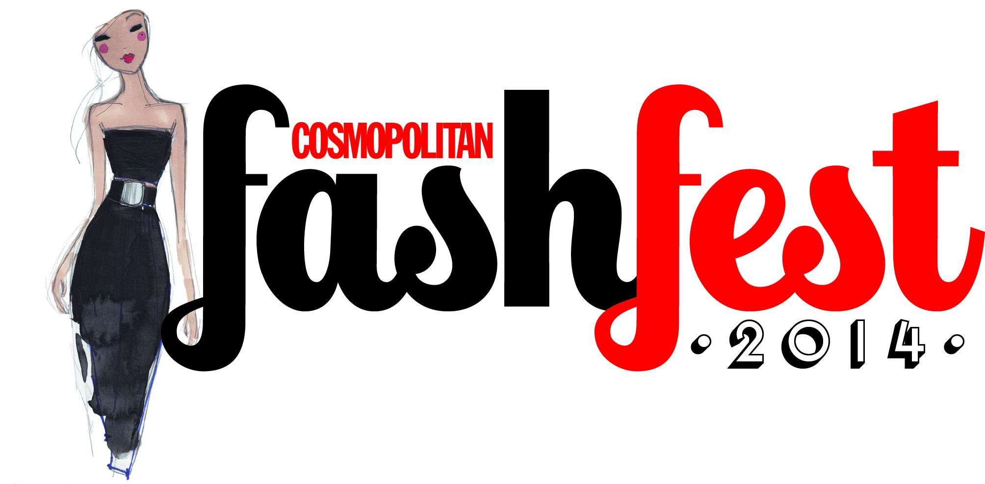 FashFest logo with illustration