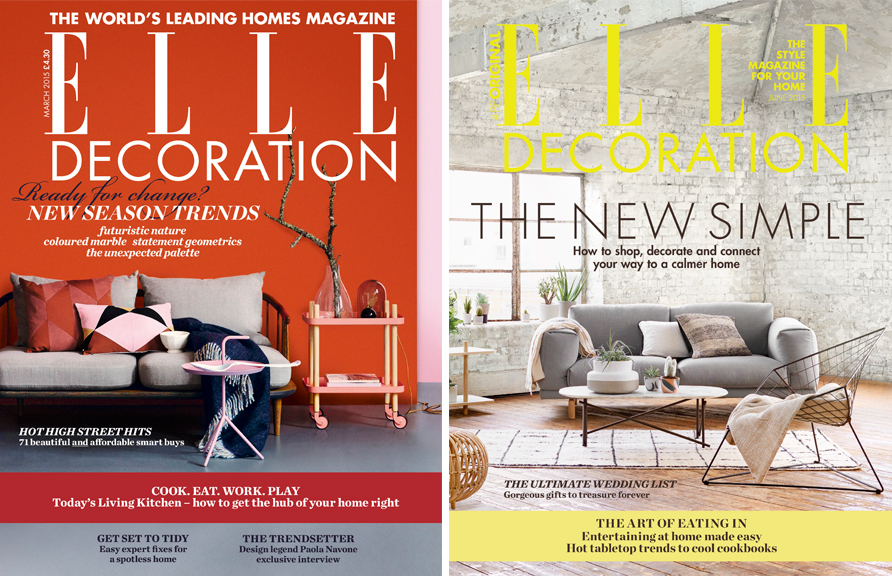 Elle Decoration Hearst Ukhearst Uk Home Decor Magazines