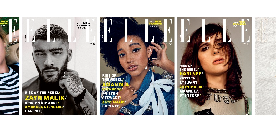 Hearst magazines uk refreshes elle uk with innovative for Elle subscription change address